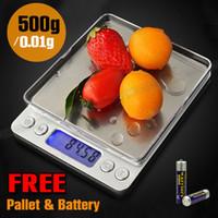 Wholesale Electronic Kitchen Postal Scales - 0.01-500g Kitchen Food Scale Digital Electronic LCD Postal Weight OZ