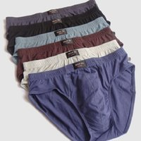 Wholesale underwear online - Ultra large size Men s wear Large loose male cotton Underwears Briefs high waist panties breathable fat belts Big yards men s underwear