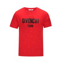 Wholesale Designer Shirts For Women - Paris GIV fashion designer t shirts for men women Brand short sleeve cotton t shirt men Palace asap letters poloshirt shirt men