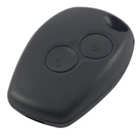 Wholesale Car Key Buttons - 2 Buttons Car Key Shell Remote Fob Cover Case For Renault Dacia Modus Clio 3 Twingo Kangoo 2 AUP_40G