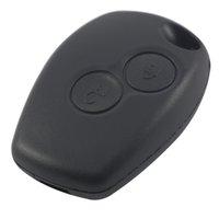 fernbedienung für autos großhandel-2 Tasten Autoschlüssel Shell Remote Fob Cover Fall für Renault Dacia Modus Clio 3 Twingo Kangoo 2 AUP_40G