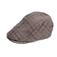 Wholesale Ascot Caps - Plaid Mens Womens All Season Duckbill Ivy Driver Golf Cabbie Gatsby Cap Ascot Ivy Casquette Hat T261