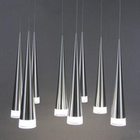 Wholesale kitchen light fixtures online - Modern LED Pendant Lamps Iron Metal Light Fixtures Fashion Living Bedroom Decorative Restaurant Dining Kitchen Pendant Lights