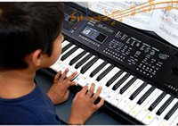 Wholesale Toy Organs - In Stock NEWEST HOT Wholesale 61 Keys Children's Electronic Organ Fashion Toys