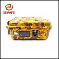 Wholesale E Cigaretter - 2017 Invention Pelican Case Dnail E Nail Heater Temp Control E Cigaretter Dry Herbat Wax Box Vaporizer Kit DHL Free Shipping