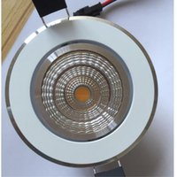 çok parlak ışıklar toptan satış-Yeni 9 W Yeni Çok Parlak Dim LED COB çip downlight Gömme LED Tavan işık Spot Işık Lambası Beyaz / sıcak beyaz