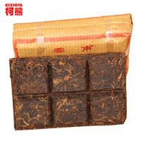 yunnan pu er tea al por mayor-El té chino más antiguo del puer, té de Yunnan Shu Pu er para la pérdida de peso que adelgaza, abajo tres alto 100% del té verde natural de Puerh de la comida 50g