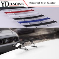 Wholesale bmw lip resale online - Universal Style Auto Racing Car Spoiler Trunk Lip Wing Fit Any Sedan Cars For BMW Audi Benz VW