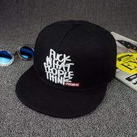 Wholesale Snapbacks Hats Fuck - New brand fuck what people think embroidery bone Snapbacks premier narrow minded baseball cap adjustable flat hat for women men