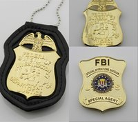 special operations badge - The United States Federal collection of copper metal badge FBI special operations division agent badge Halloween cosplay