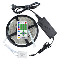 Wholesale Horse Decorations Wholesale - 270leds 54LED M 5M 5050 RGB Waterproof Dream Color Color Changing Kit Horse Race LED Strip light + 25 key Remote Controller
