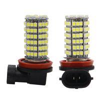 Wholesale Led Vehicle Car Day - H11 120 SMD 68 LED 1210 3528 LED Super Bright Vehicle Car Fog Headlight Head Day Running Light Bulb Lamp 120SMD LED Bulb 12V