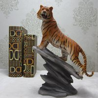 Wholesale Tiger Ornaments Gifts - Tiger ornaments business gifts Zhaocai Huasha crafts talisman Home Furnishing decoration gifts