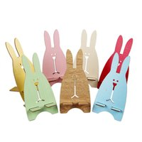 Wholesale Rabbit Mobile Holder - mobile phone Cute Rabbit Universal Cell Phone Desk Stand Holder for Samsung Huawei iphne 6 7
