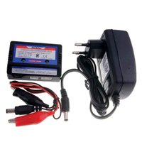 Wholesale Rc Car Lipo - RC 2-3S Li-Po 7.4v 11.1v Lipo Battery Balance Charger LK-1008D Adapter DC12V 2A