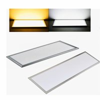 Wholesale celling led light resale online - New arrive Led panel lights W W X1200MM led celling lamp SMD2835 Beam angle degree years warranty