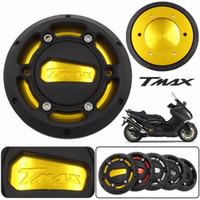yamaha motorradmotoren großhandel-1 stücke motorrad motorabdeckung für yamaha tmax 530 tmax500 cnc motorrad motor schutzhülle