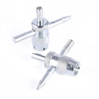 extracteur de valve achat en gros de-Haute Qualité 4-Way Voiture Vélo Camion Pneu Tournevis Valve Tire Outil De Réparation Pneu Stem Core Remover Installer
