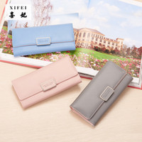 Wholesale Natural Purse - Women's purse Pure Passport cover large fresh capacity Business card holder natural wallets for female useful long-lived purse