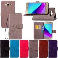 Wholesale Samsunggalaxy Flip Cases - Embossing Folio Wallet PU Leather Flip Stand Case for For SamsungGalaxy s3 s3 mini s4 s4 mini s5 s6 s6 edge S6 EDGE PLUS s7 with Hand strap