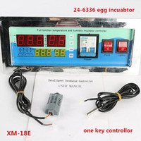 Wholesale Incubator Digital - Freeshipping full automatic egg incubator temperature humidity controller egg incubator digital controller for sale