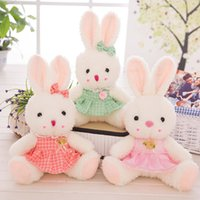 Wholesale Stuff For Girls - 35CM 55CM Lovely Rabbit Plush Toy Soft Love Rabbit Toy Stuffed Animal Doll Gifts for Children and Girls