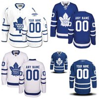 Wholesale Cheap Toronto Maple Leaf Jerseys - Customized Toronto Maple Leafs Jerseys Authentic personalized Cheap Hockey Jerseys Any Number & Name Embroidery Logos size S-3XL