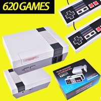 Wholesale Tv Game Wholesalers - Mini TV Video Handheld Game Console Entertainment System Built-in 500 600 620 Classic Games For Nes Games PAL NTSC OTH002