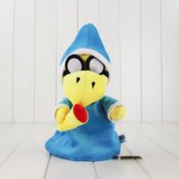 "Wholesale Super Mario Plush Toy Kamek - New Super Mario Bros. World Plush Magikoopa Kamek Soft Toy Stuffed Animal 11"" Retail"