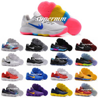 2017 New Hyperdunk Low EP Weave Knit Basketball Shoes pour Hommes Noir Metallic Silver Hyperdunks Sports Sneakers Trainers High Qualiy US7-12