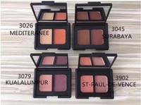 Wholesale blush palettes - Best selling New Brand Fashion 4 Color Blush palette cosmetics Bronzers Blush 12PCS