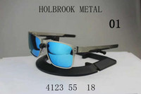 Wholesale Designer Holbrook - metal frame Designer Sunglasses For Women Men Holbrook Polarized Sport Sun Glasses Multicolor Lens Chose Cycling Shade UV400 Goggles