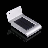 Wholesale Outside Home Lighting - Wholesale- Outdoor Solar Lights Motion Sensor Detector Exterior Security Lighting For Patio Yard Garden Home Driveway Stairs Outside Wall