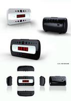 Wholesale Ir Motion Camera Micro Sd - HD 1080P 720P Wireless Wifi IP Spy Hidden Camera Motion Detect Security Clock Cam IR Support Micro SD Card 32GB