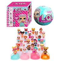 Wholesale Plush Toys China - LOL SURPRISE DOLL New Surprise Doll LOL Egg Drop Toys R Us Fuggets Bears Toys Dolls