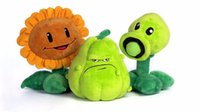 Wholesale Plants Zombies Plush Squash - New arrival! plants vs zombies plush toys 30cm stuffed toys new zombies characters Squash Doll Plants flower toy set kids gifts