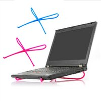 Wholesale Laptop Cooling Stand Holder - Wholesale- Colohas 2017 Hot Portable Plastic Simple Laptop Notebook Cooling Cooler Stand Rack Holder Tool