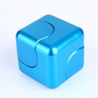Wholesale Mini Cube Puzzle - New Sale Mini Fidget Spinner Cube Finger Hand Spinners Funny Reliever Toys High Quality Antistress Puzzle Cubo