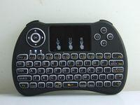 mäuse großhandel-Wireless Backlit Blacklight Tastatur H9 Fly Air Mouse Multimedia-Fernbedienung Touchpad Handheld Für Android TV BOX 20pcs UP