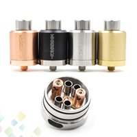 black kennedy - Newest KENNEDY RDA Clone Rebuildable Atomizers mm Diameter POST SS Black Brass Red Copper PEEK Insulator fit Mods DHL Free