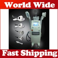 Wholesale cool lipolysis machine for sale - Best effect Pro Cold LipoLysis heads Cool body Sculpting Fat Freezee Machine RF body face Vacuum Roller khz cavitation slimming