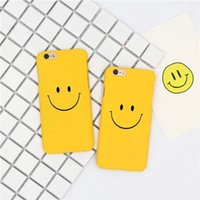 Wholesale Smile Phone Cases - 2005-113 dull polish hard case for iPhone7 and 7 plus,fashion smile back cover for iPhone6 6S plus,plastic phone case for iPhone5S SE