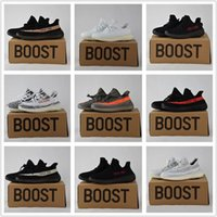 Wholesale Copper Box Arts - 2017 New Zebra 350 v2 Boost Turtle Dove BZ0256 Boost Red SPLY-350 Backward V2 Men Women Runing Shoes Black Red White Green Copper With Box