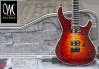 Wholesale Locking Guitar Tuner - Wholesale- Mayones regius6 handmade electric guitar seymour duncan pickups grover tuner locked custom shop color binding