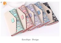 2017 Nouveau Mode Fleurs Enveloppe Femmes Portefeuille Hot Sale Long Leather Wallet Popular Change Handse Casual Ladies Cash Purse
