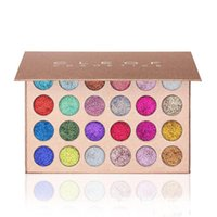Wholesale High Glitter Eyeshadow - New arrival high quality CLEOF Cosmetics Unicorn Glitter Eyeshadow Palette 24 Colors Makeup Eye Shadow Palette free shipping MR490