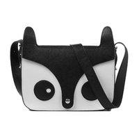 Wholesale Owl Leather Mini Purse Wholesale - Wholesale- Fashion Women Cute Fox Owl Satchel Pu Leather Messenger Shoulder Bag Girls Handbag Cross Body Purse Y1