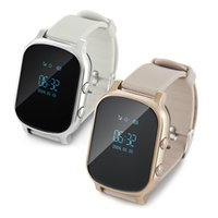 Wholesale Gps Sos Call Function - GPS Smart Watch SOS GSM Sim Card for Kids Adult Anti-lost Monitoring Reminder Multi Function with IOS Android Mobile Phone