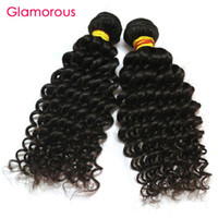 Glamorous Virgin Human Hair 3 Bundles Mix Länge Malaysian Indian Peruanischen brasilianischen Haar webt Jerry Curly Haarverlängerungen für schwarze Frauen