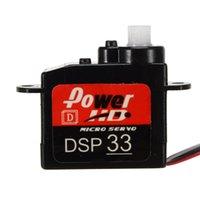 Wholesale Micro Servos - Digital servos Power HD Micro Mini Digital 0.35kg 2.9g 20T HD-DSP33 W  Plastic Gears for F3P KT3D